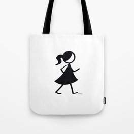 Flipt Pictures Girl Tote Bag