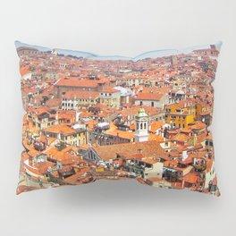 Venice Rooftops Pillow Sham
