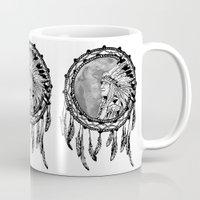 dream catcher Mugs featuring Dream Catcher by Astrablink7