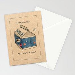 Milk Stationery Cards
