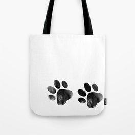 Cat's footprints Tote Bag