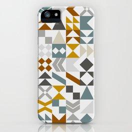 Mid West Geometric 05 iPhone Case