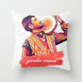Gurdas Maan Throw Pillow