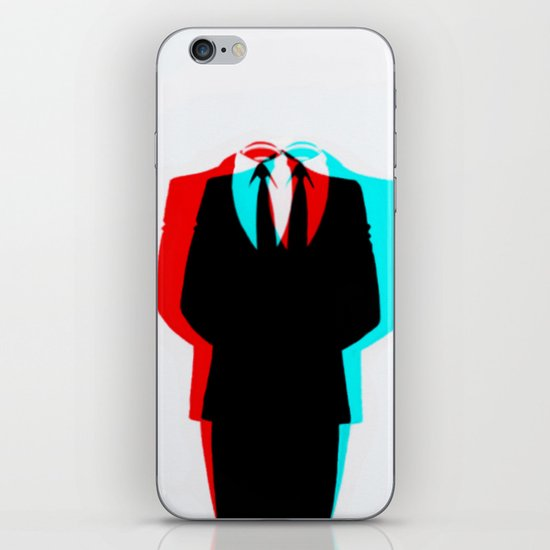 Anonymous.1 iPhone & iPod Skin