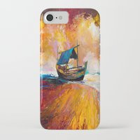 boat iPhone & iPod Cases featuring Boat by BOYAN DIMITROV