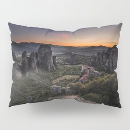 Sunset at Meteora Pillow Sham