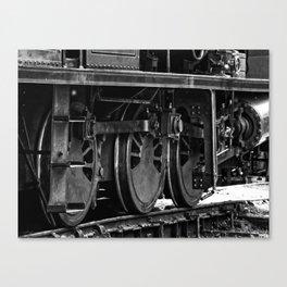 Workhorse At Rest B/W Canvas Print