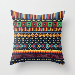 Africa No2 Throw Pillow