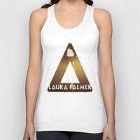 laura palmer Tank Tops featuring Bastille #1 Laura Palmer by Thafrayer