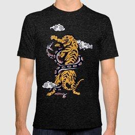 Tiger vs Snake T-shirt