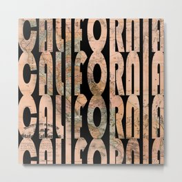 California 1957 Metal Print