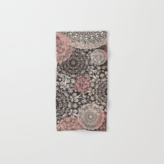 HAPPY GO LUCKY - BOHO WOOD Hand & Bath Towel