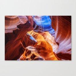 Abstract at Antelope Canvas Print