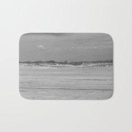 Dunes of Assateague Island (black and white) Bath Mat