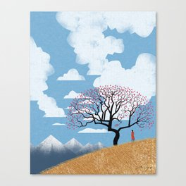 The spring thaw Canvas Print