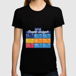 ae'm graphic designer T-shirt