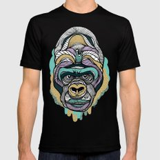 Gorilla Mens Fitted Tee Black 2X-LARGE