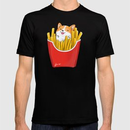French Corgi Fries T-shirt