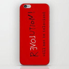 re-love-ution iPhone Skin
