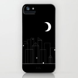 Nightowls (Ghost Town) iPhone Case