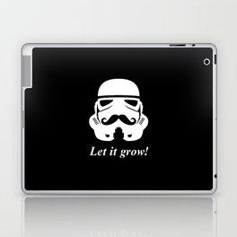 Bearded trooper Laptop & iPad Skin