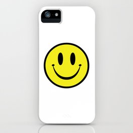 Rave Smile iPhone Case
