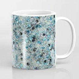 Turquoise Mermaid Glitter Art Coffee Mug