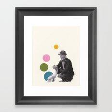 A False Sense of Security Framed Art Print