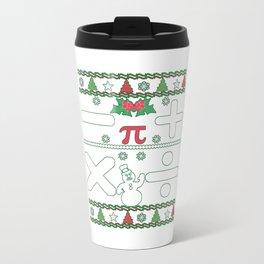 Math Christmas Travel Mug