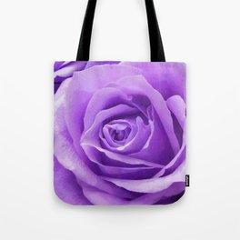 Violet roses Tote Bag