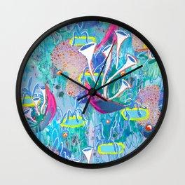 Alien Organism 31 Wall Clock