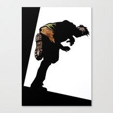 RUN ZOMBIE RUN! Canvas Print