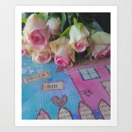 House Of Roses Art Print