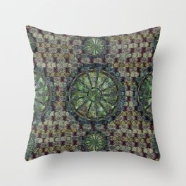 Look Up, Or Don't - The Cleveland Trust Rotunda Throw Pillow