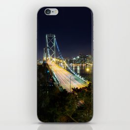 Bay Bridge Lights iPhone Skin