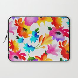 Dancing Floral Laptop Sleeve