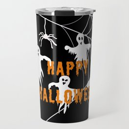 Monsters Happy Halloween Travel Mug