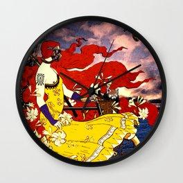 Gaia's Lament Wall Clock