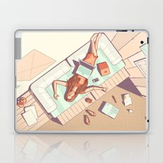 Waiting for inspiration Laptop & iPad Skin