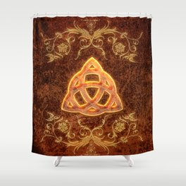 The celtic sign  Shower Curtain
