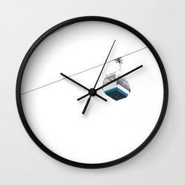 Cableway Wall Clock