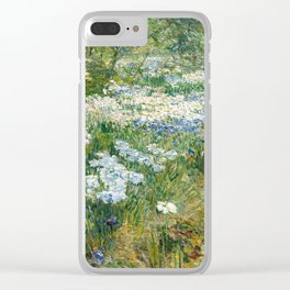 Childe Hassam - The Water Garden Clear iPhone Case