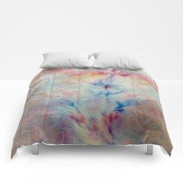 Tye Dye Kaleidoscope Sunset Comforters