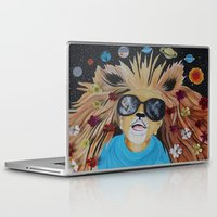 pocket fuel Laptop & iPad Skins featuring Fuel Your Imagination by AMFcreations