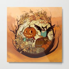 Fall Folklore Metal Print