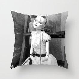The hanged mistress Throw Pillow