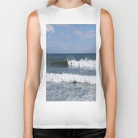 surfer Biker Tanks featuring Surfer by moonstarsunnj