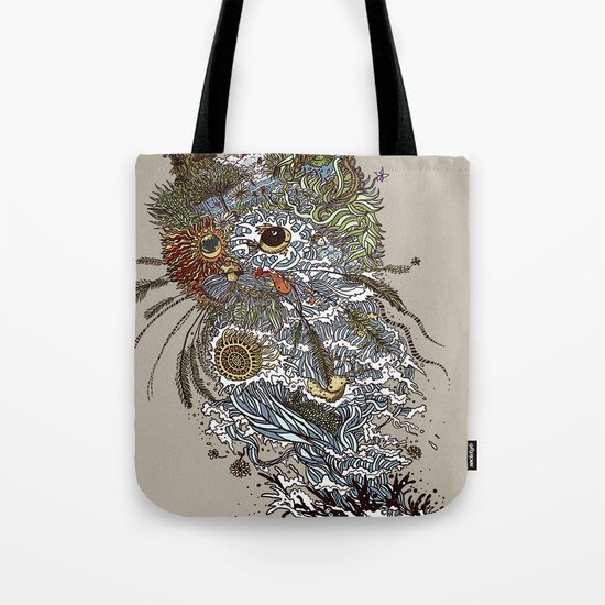 Colors to Nature. Tote Bag