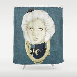MOON SERIES: 1900s Shower Curtain