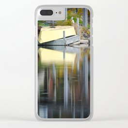 Queensland Lake reflection Clear iPhone Case